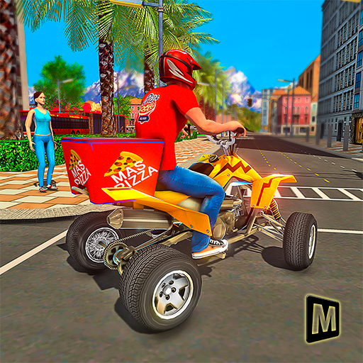ATV Pizza Delivery Boy 1.1 MOD APK Dwnload – free Modded (Unlimited Money) on Android