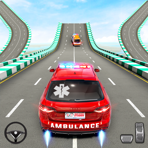 Ambulance Car Stunts: Mega Ramp Stunt Car Games 3.0 MOD APK Dwnload – free Modded (Unlimited Money) on Android