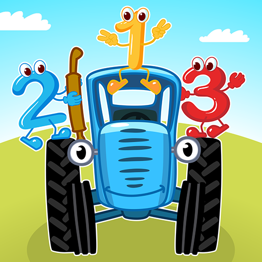 Blue Tractor Games for Toddlers 2 Years Old! Pre K  1.1.4 MOD APK Dwnload – free Modded (Unlimited Money) on Android