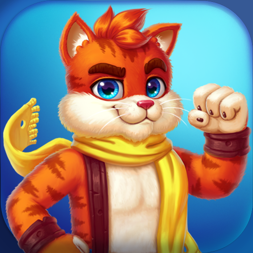 Cat Heroes: Puzzle Adventure 51.2.1  MOD APK Dwnload – free Modded (Unlimited Money) on Android