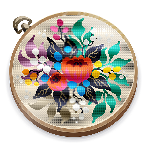 Cross Stitch Club — Color by Numbers with a Hoop  1.4.32 MOD APK Dwnload – free Modded (Unlimited Money) on Android