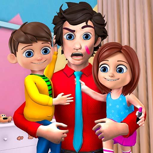 Dad at Home – Happy Family Games 1.0.3 MOD APK Dwnload – free Modded (Unlimited Money) on Android