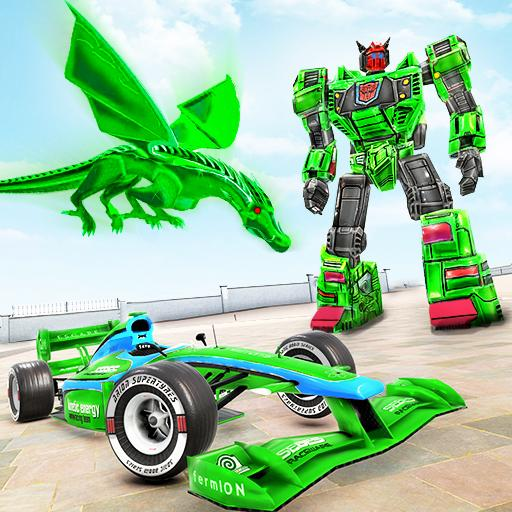 Dragon Robot Car Game – Robot transforming games  1.3.9 MOD APK Dwnload – free Modded (Unlimited Money) on Android