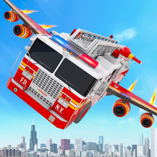 Flying Firefighter Truck Transform Robot Games 28 MOD APK Dwnload – free Modded (Unlimited Money) on Android