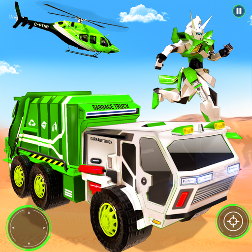 Flying Garbage Truck Robot Transform: Robot Games 24 MOD APK Dwnload – free Modded (Unlimited Money) on Android