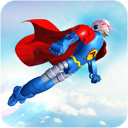 Flying Hero Robot Transform Car: Robot Games 2.1.6  OD APK Dwnload – free Modded (Unlimited Money) on Android
