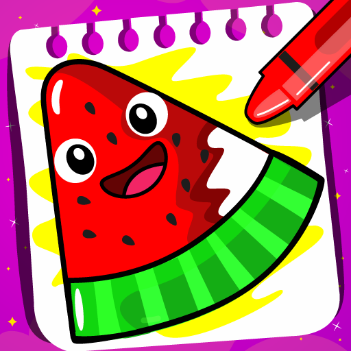 Fruits Coloring book & Food Drawing book Kids Free 1.4 MOD APK Dwnload – free Modded (Unlimited Money) on Android