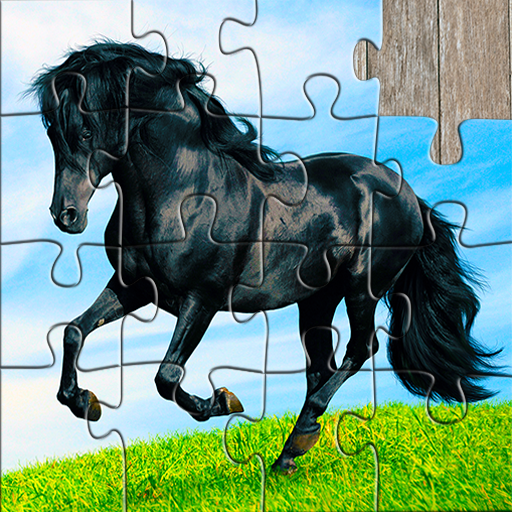 Horse Jigsaw Puzzles Game – For Kids & Adults 🐴 26.1  MOD APK Dwnload – free Modded (Unlimited Money) on Android