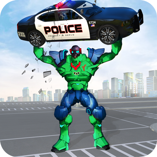 Incredible Monster Robot Hero Crime Shooting Game  2.0.8 MOD APK Dwnload – free Modded (Unlimited Money) on Android