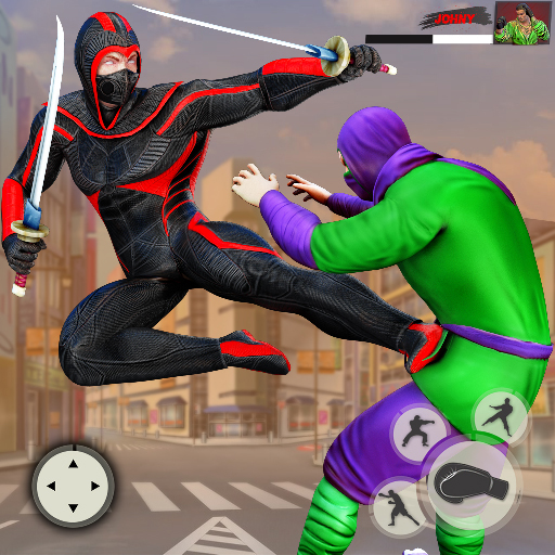 Ninja Superhero Fighting Games: City Kung Fu Fight 7.0.2  MOD APK Dwnload – free Modded (Unlimited Money) on Android