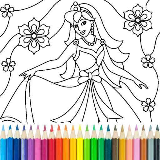 Princess Coloring Game 15.3.8  MOD APK Dwnload – free Modded (Unlimited Money) on Android