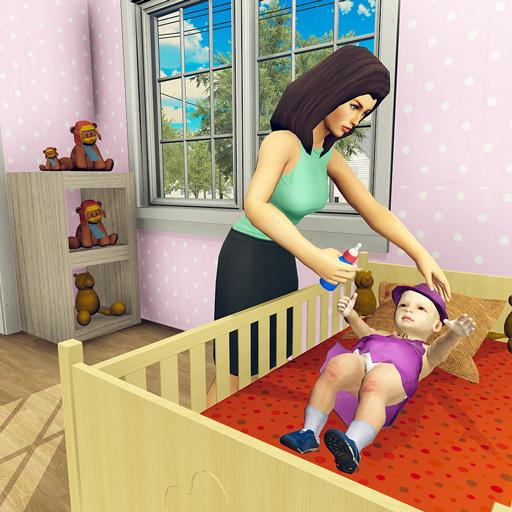 Real Mother Simulator 3D – Baby Care Games 2020 1.0.1 MOD APK Dwnload – free Modded (Unlimited Money) on Android