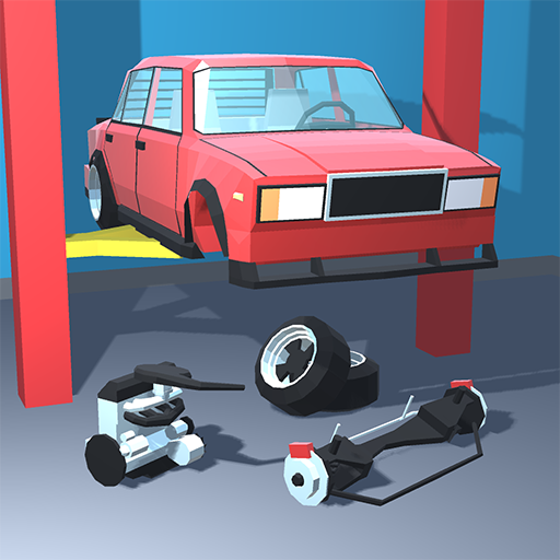 Retro Garage Car mechanic simulator  2.2.3 MOD APK Dwnload – free Modded (Unlimited Money) on Android