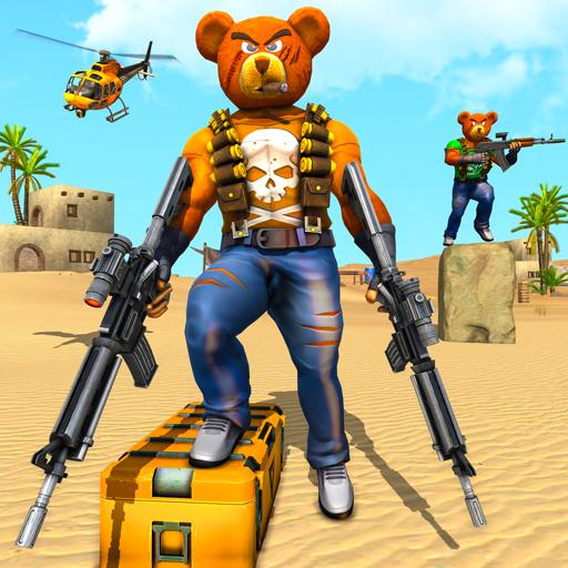 Teddy Bear Gun Strike Game: Counter Shooting Games 2.6 MOD APK Dwnload – free Modded (Unlimited Money) on Android
