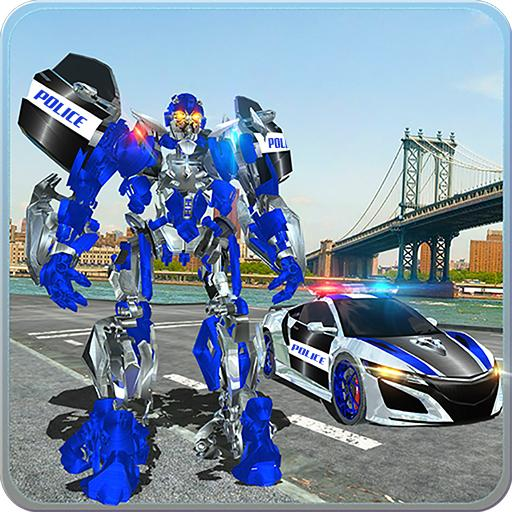 US Police Car Real Robot Transform: Robot Car Game 164 MOD APK Dwnload – free Modded (Unlimited Money) on Android