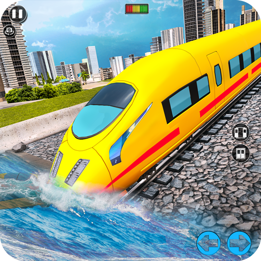 Underwater City Train Games  6.0.0 (Unlimited money,Mod) for Android