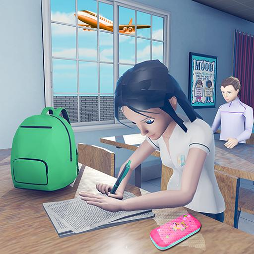 Virtual High School Girl Game- School Simulator 3D 1.0.0 MOD APK Dwnload – free Modded (Unlimited Money) on Android