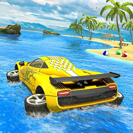 Water Surfer car Floating Beach Drive 1.17  MOD APK Dwnload – free Modded (Unlimited Money) on Android