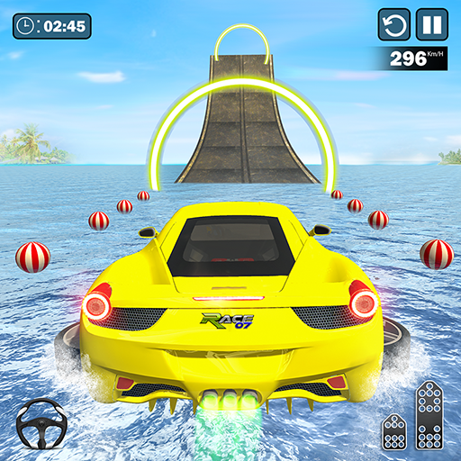 Water Surfing Car Stunts 1.0.32 MOD APK Dwnload – free Modded (Unlimited Money) on Android