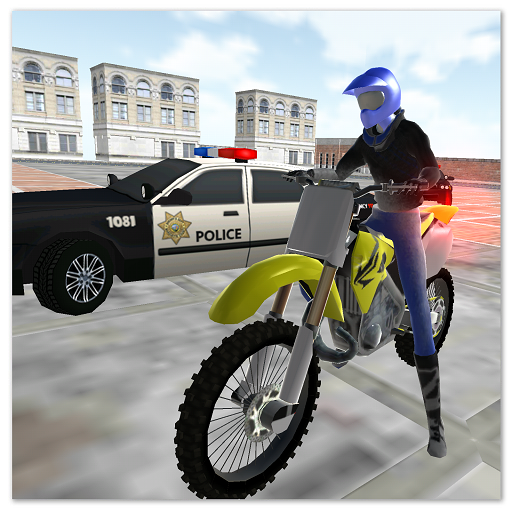motocross racing star -ultimate police game 1.22  MOD APK Dwnload – free Modded (Unlimited Money) on Android