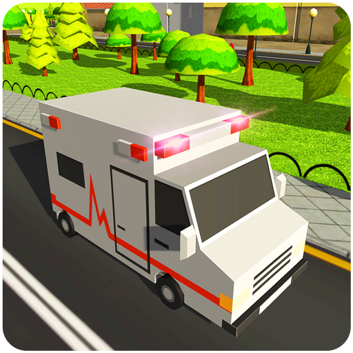 Blocky US Fire Truck & Army Ambulance Rescue Game 1.0.6 MOD APK Dwnload – free Modded (Unlimited Money) on Android
