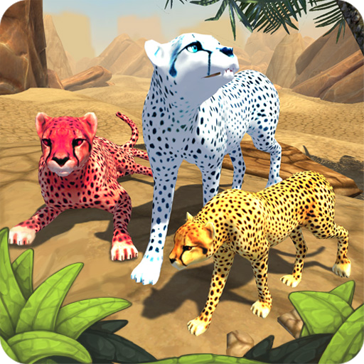 Cheetah Family Sim Animal Simulator  7.0 MOD APK Dwnload – free Modded (Unlimited Money) on Android