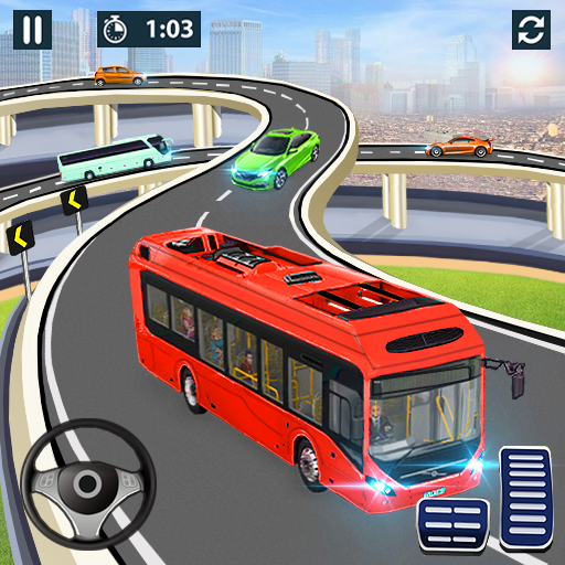 City Coach Bus Simulator 2021 – PvP Free Bus Games 1.2.6 MOD APK Dwnload – free Modded (Unlimited Money) on Android