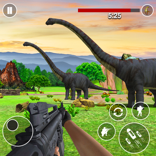 Dinosaurs Hunter Wild Jungle Animals Shooting Game 4.0 MOD APK Dwnload – free Modded (Unlimited Money) on Android