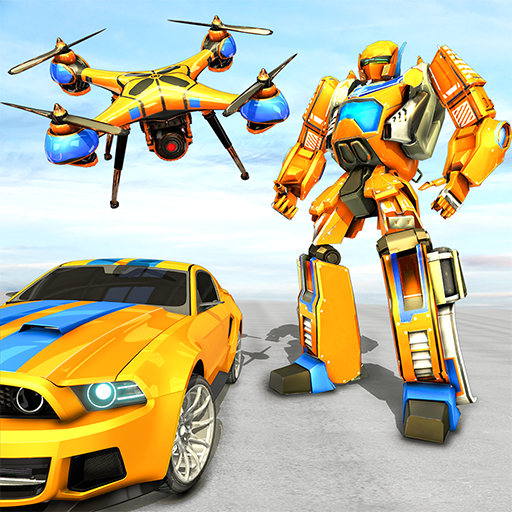 Drone Robot Car Game – Robot Transforming Games 1.2.1 MOD APK Dwnload – free Modded (Unlimited Money) on Android