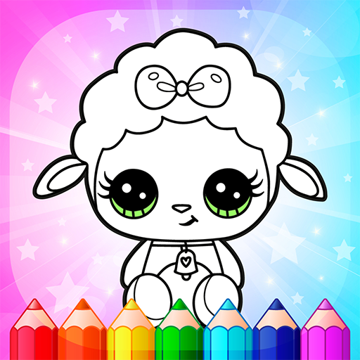 Flower Magic Color-kids coloring book with animals  3.9 MOD APK Dwnload – free Modded (Unlimited Money) on Android