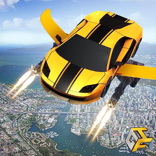 Flying Robot Car Games – Robot Shooting Games 2020 2.1 MOD APK Dwnload – free Modded (Unlimited Money) on Android