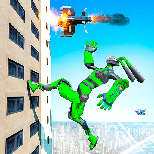 Grand Police Robot Speed: Hero Bunny Robot Games 1.1 MOD APK Dwnload – free Modded (Unlimited Money) on Android