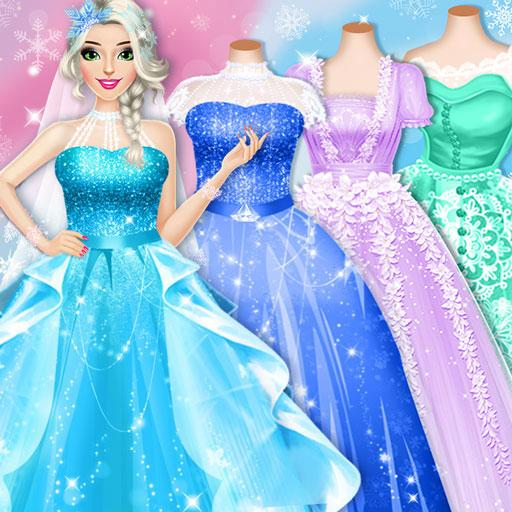 Ice Princess Wedding Dress Up Stylist 0.11 MOD APK Dwnload – free Modded (Unlimited Money) on Android