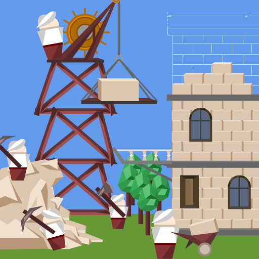 ruction tycoon maIdle Tower Builder: constnager 1.1.9 MOD APK Dwnload – free Modded (Unlimited Money) on Android