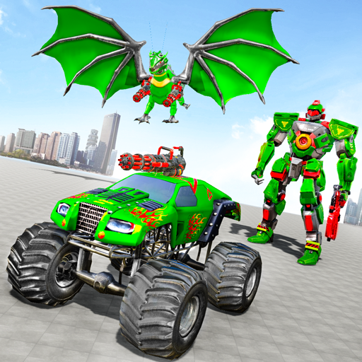 Monster Truck Robot Wars – New Dragon Robot Game 1.1.5 MOD APK Dwnload – free Modded (Unlimited Money) on Android