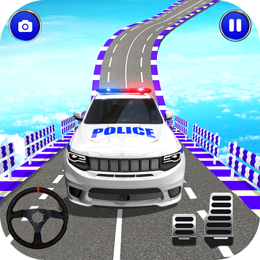 Police Spooky Jeep Stunt Game: Mega Ramp 3D 1.0 MOD APK Dwnload – free Modded (Unlimited Money) on Android