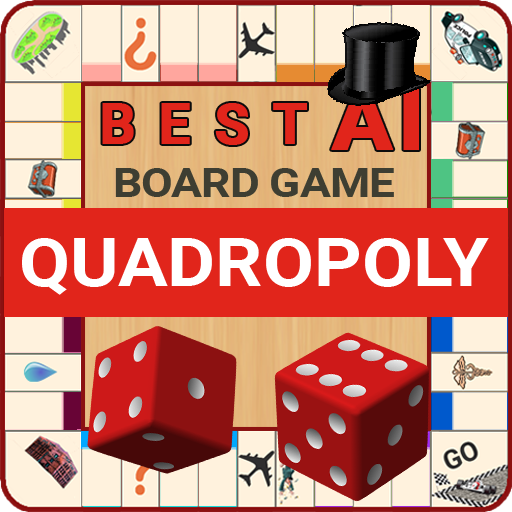 Quadropoly Best AI Board Business Trading Game  1.78.82 MOD APK Dwnload – free Modded (Unlimited Money) on Android