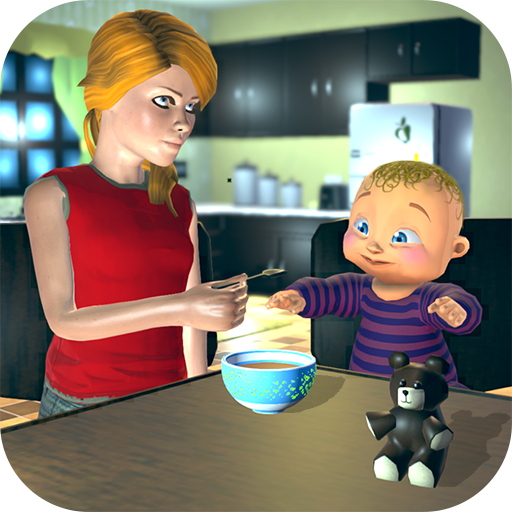 Real Mother Baby Games 3D: Virtual Family Sim 2019 1.0.6 MOD APK Dwnload – free Modded (Unlimited Money) on Android