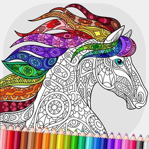 Relaxing Adult Coloring Book 2.7 MOD APK Dwnload – free Modded (Unlimited Money) on Android