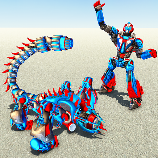 Scorpion Robot Transforming – Robot shooting games  1.11 MOD APK Dwnload – free Modded (Unlimited Money) on Android