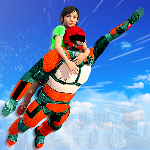US Light Robot  Speed Hero :City Rescue Mission 1.0.21 MOD APK Dwnload – free Modded (Unlimited Money) on Android
