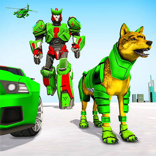 Wolf Robot Transforming Games – Robot Car Games 1.0.23  MOD APK Dwnload – free Modded (Unlimited Money) on Android