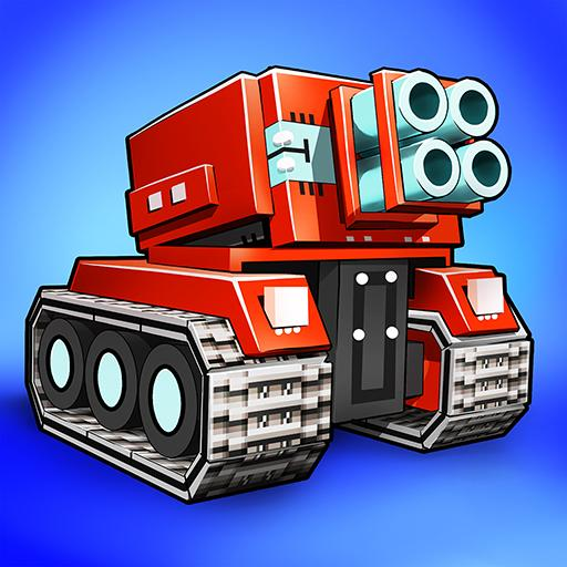 Blocky Cars – pixel shooter, tank wars  7.6.10 MOD APK Dwnload – free Modded (Unlimited Money) on Android
