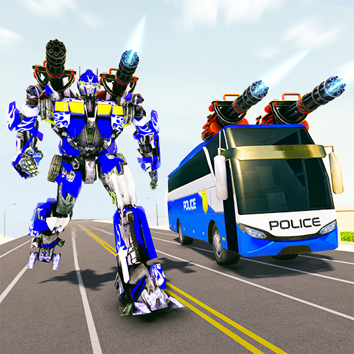 Bus Robot Car Transform War– Spaceship Robot game  4.4 MOD APK Dwnload – free Modded (Unlimited Money) on Android