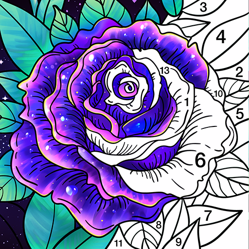 Coloring Book Color by Number & Paint by Number  1.7.6 MOD APK Dwnload – free Modded (Unlimited Money) on Android