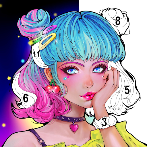 Sweet Coloring Color by Number Painting Game  1.0.19 MOD APK Dwnload – free Modded (Unlimited Money) on Android