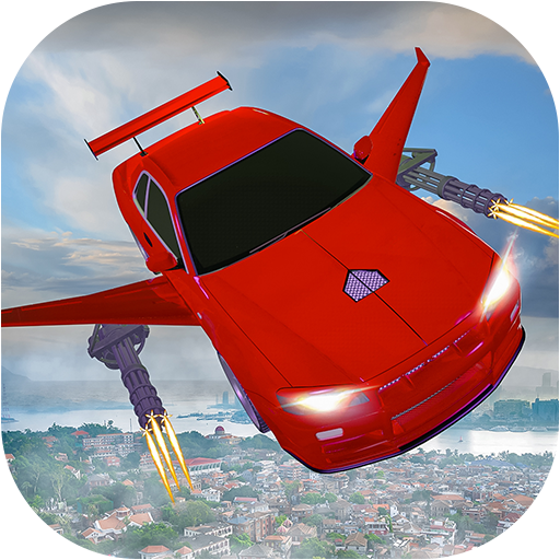 Flying car Shooting: Ultimate car Flying simulator 1.6 MOD APK Dwnload – free Modded (Unlimited Money) on Android
