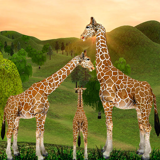 Giraffe Family Life Jungle Simulator 4.6 MOD APK Dwnload – free Modded (Unlimited Money) on Android