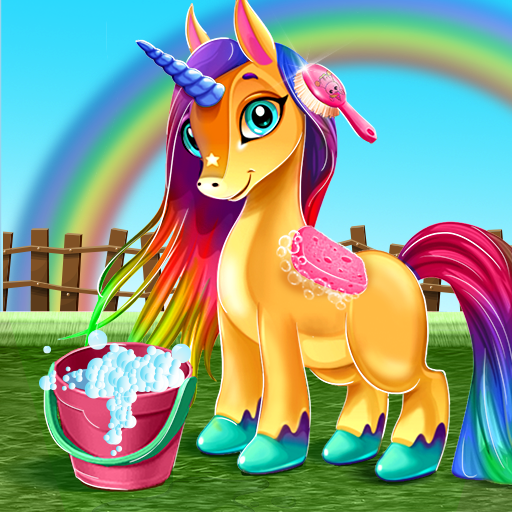 Little Unicorn Care Baby Pony Pet 0.6 MOD APK Dwnload – free Modded (Unlimited Money) on Android