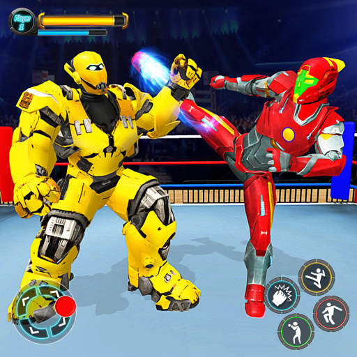 Robot Ring Fighting Games: Free Robot Games 2021 1.8 MOD APK Dwnload – free Modded (Unlimited Money) on Android